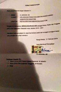 DPW PAN Sultra Sudah Deteksi Pengunduran Diri Arhawi