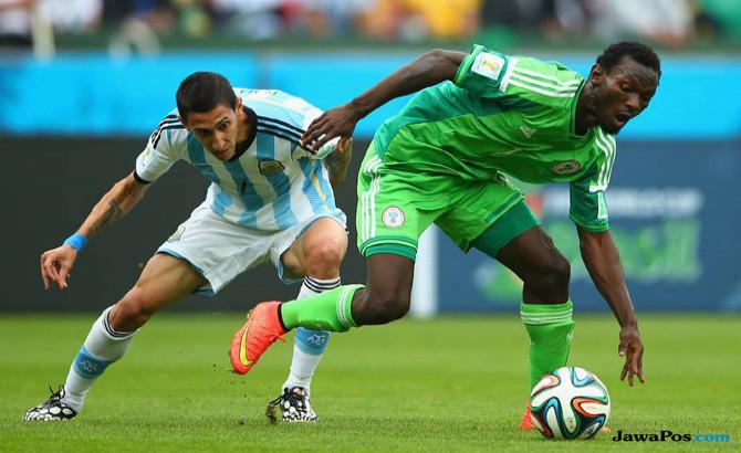 Argentinien Vs Nigeria