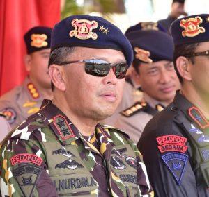 Jadi Anggota Kehormatan Brimob, Gubernur Nurdin Abdullah: Saya Harus Jaga Nama Baik Korps