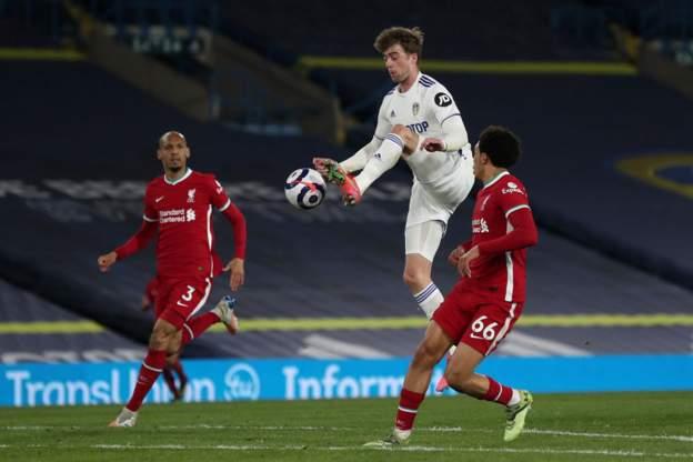 Pemain Leeds Kesal Imbang Liverpool - FAJAR
